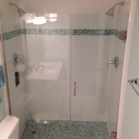 custom glass shower enclosure miramar beach florida
