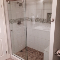 Hydroslide glass shower door florida