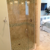 glass shower door and enclosure sandestin area florida