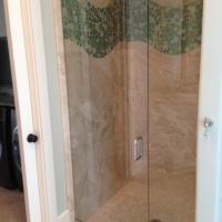 glass shower door and enclosure south walton florida