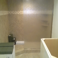 rain panel glass shower doors