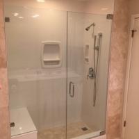 Glass shower enclosures for home design