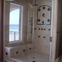 glass shower door and enclosure company Destin Florida