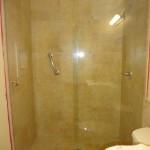 hydroslide glass shower door installation