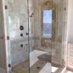 beautiful frameless glass shower door installation in destin, 30A, south walton, sandestin, miramar beach, santa rosa beach