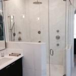 destin glass shower door enclosure