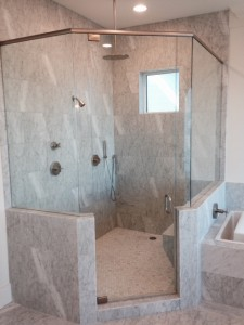 glass shower enclosures in south walton and 30A