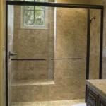 professional bypass glass shower door in destin, 30A, south walton, sandestin, miramar beach, santa rosa beach